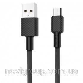 Кабель Hoco X29 Superior style, Micro-USB, 2A, Black, довжина 1м, BOX