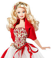 Колекційна Лялька Барбі Холідей Святкова 2010 року Блондинка Holiday Barbie Doll, фото 1