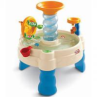 Дитяча Багаторівнева Конструкція Дитяча пісочниця Водні Пригоди синя з аксесуарами Little Tikes