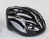 Детский защитный шлем ЧЕРНЫЙ арт. 31980, фото 1