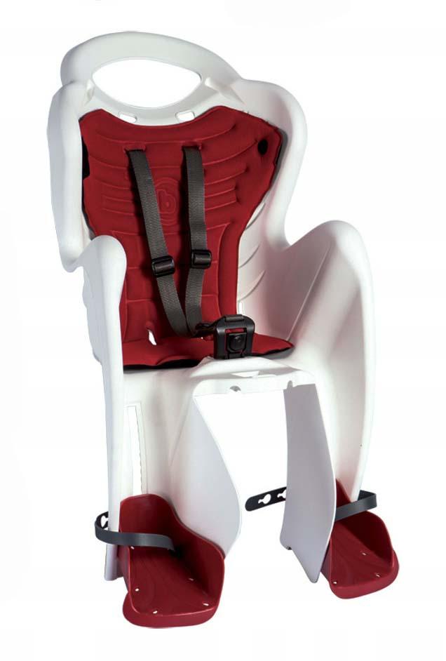 Велокрісло Bellelli Mr. Fox Италия clamp на багажник білий