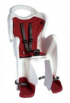 Велокресло Bellelli Mr. Fox Италия на раму relax с откидной спинкой белый