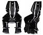 Велокрісло Bellelli LOTUS Італія на раму relax з відкидною спинкою чорний, фото 3