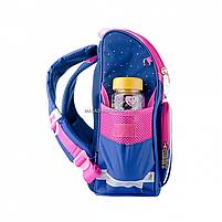 Рюкзак шкільний каркасний SMART Синій (558050), фото 3