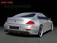 Бампер задний BMW E 63