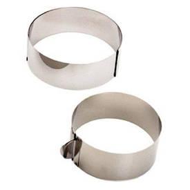 Кільце кондитерське розсувне для випічки і складання тортів заввишки 12 см діаметр 16-30 см