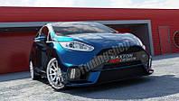 Бампер передний Ford Fiesta MK7 в стиле Focus RS 2015