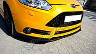 Диффузор переднего бампера Ford Focus MK3 дорест.