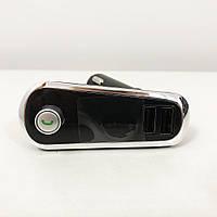 FM Трансмітер в машину SmartUS G11 BT ФМ модулятор автомобільний. Колір: срібло