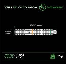 Дартс, дротики Англія Winmau Steel Willie o'connor 23g, фото 2