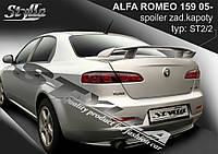 Спойлер Alfa Romeo 159