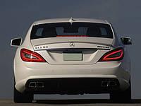 Спойлер (липспойлер) Mercedes CLS W218 стиль AMG (abs)
