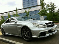 Аэродинамический комплект Mercedes W219 style Wald 2