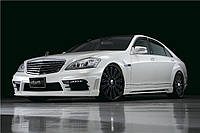 Аэродинамический комплект Mercedes w221 Wald style