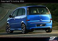 Бампер задний Opel Meriva
