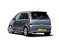 Накладка заднего бампера Opel Meriva A