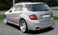 Бампер задний Mercedes M W164