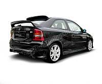 Накладка заднего бампера Opel Astra G (3, 5 дверей, Hatchback)