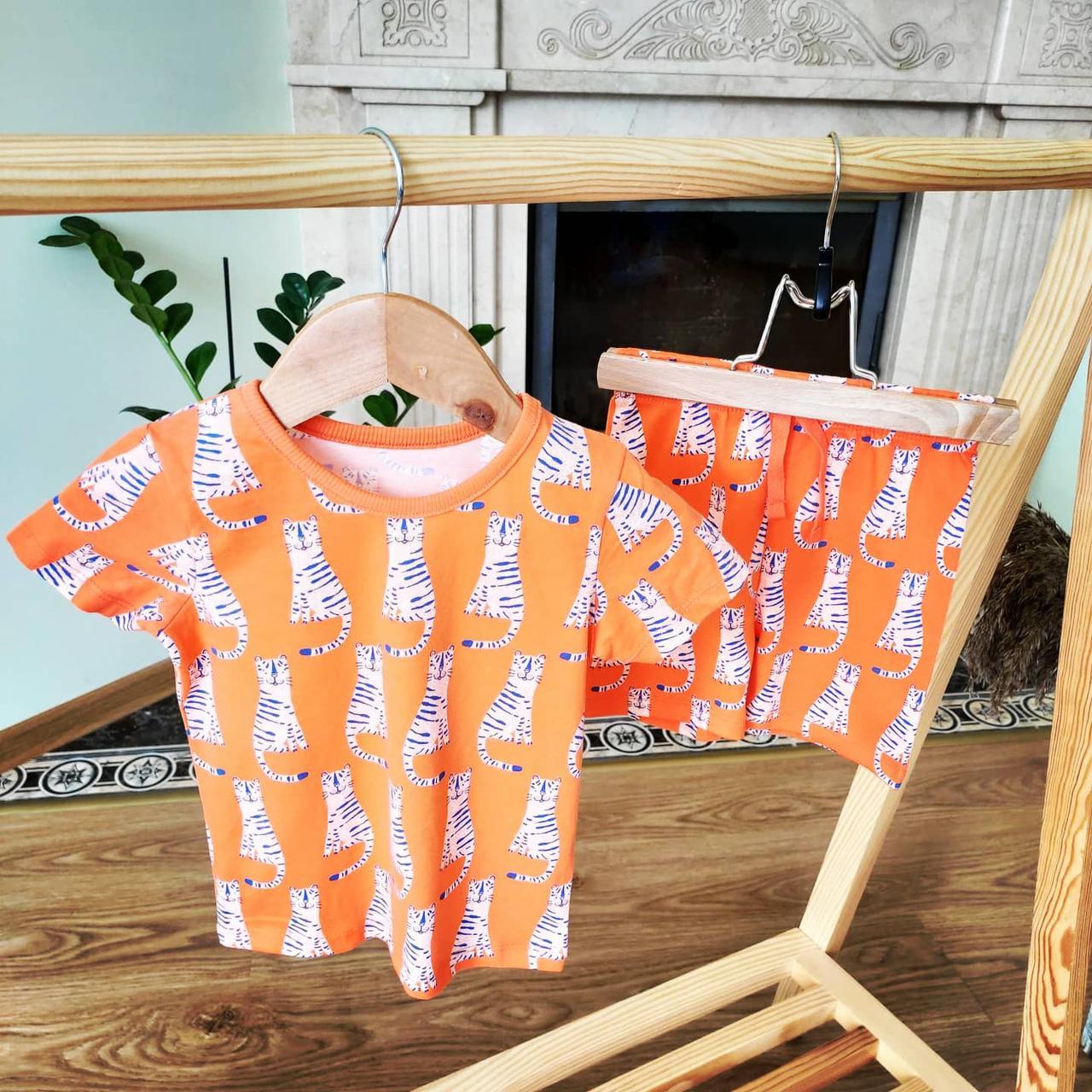 Літній костюмчик шортики та футболка від George