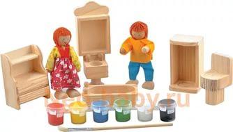 Деревянная игрушка Набор для творчества