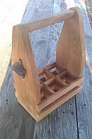"""Ящик деревянный для бутылок 0,33 л. """"винтаж"""""""