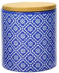 Керамічна банку з бамбуковою кришкою Limited Edition Freya 500 мл