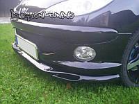 Накладка передняя Peugeot 206 (широкий бампер)