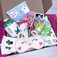 """Подарочный бокс для девочки WOW BOXES """"Mega Llama box"""""""