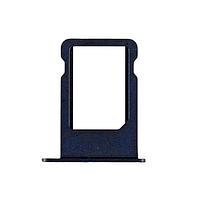 Держатель (лоток) внешний слот SIM карты лоток iPhone 5G темно-серый