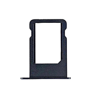 Держатель (лоток) внешний слот SIM карты лоток iPhone 5S темно-серый
