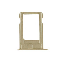 Держатель (лоток) внешний слот SIM карты лоток iPhone 5S золотой