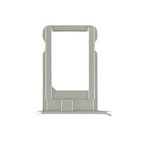 Держатель (лоток) внешний слот SIM карты лоток iPhone 5S серебряный