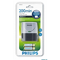 Philips multilife scb4055nb заряд.устр.+2aa 2300 mah (scb4055nb/12)