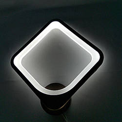 Бра ромб кавове LED 20-MX10005/1B W WH 34W