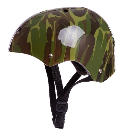 Шлем для экстремального спорта Zelart SK-5616-010 (р-р L-56-58, камуфляж зеленый)