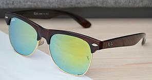 Солнцезащитные очки Ray Ban Clubmaster Клабмастер RB5706 54-17-142 C5 Brown