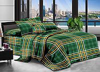 Евро комплект постельного белья 200*220 ЭКОНОМ (17070) Бязь хлопок_полиэстер