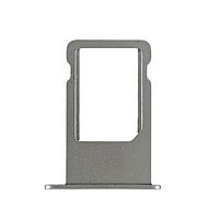 Держатель (лоток) внешний слот SIM карты лоток iPhone 6 Plus темно-серый