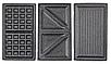 Вафельница Lexical LSM-2515 для бельгийских вафель | электровафельница, сендвичница, бутербродница, гриль 750W, фото 10