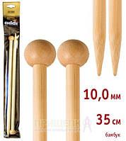 Спицы прямые бамбук Addi 500-7 № 10-35см
