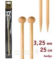 Спицы прямые бамбук Addi 500-7 № 3,25-25см