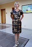Туніка з принтом Єгипет біла (56 розмір розмір XXL ), фото 4