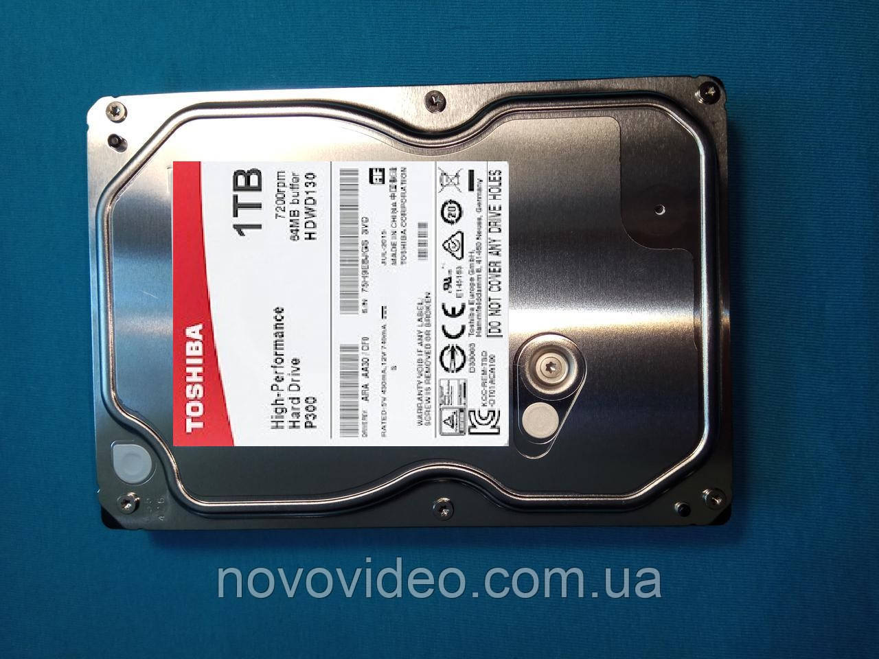 Винчестер жесткий диск для массового применения HDD SATA-3 1 Тб TOSHIBA (HDWD110UZSVA)