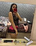 Пижама. Пижамный комплект. Сексуальное белье. Эротическое боди. Эротический комплект красный ХS ( размер 38), фото 3