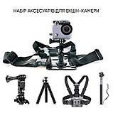 Набор аксессуаров 25 в 1 в кейсе ACK-2 для экшн-камер  / на складе, фото 2