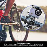 Набор аксессуаров 25 в 1 в кейсе ACK-2 для экшн-камер  / на складе, фото 4