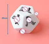 12 гранний Кубик з позами. Камасутра, фото 2
