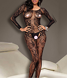 Эротическое белье. Эротический боди-комбинезон Passion ( 40 размер размер S), фото 3