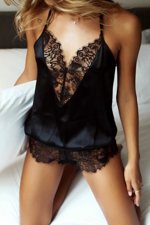 Сексуальное белье. Эротическое боди. Эротический комплект. черный (46 размер Размер  М)