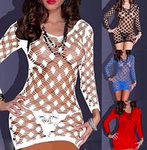 Эротическое белье. Сексуальный комплект Эротическое платье - сетка Livia Corsetti 2 (48 размер, размер L )